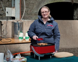 Denise Walsh  from Lavistown Sausages County Kilkenny